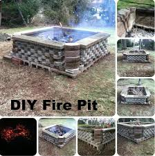 25 diy fire pit ideas u0026 tutorials for your backyard 2017