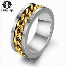 fashion rings aliexpress images New mens black gold wedding rings luxury black diamond mens jpg