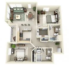 Modern 2 Bedroom Apartment Floor Plans 264 Best Apartments Images On Pinterest Architecture Small