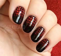 Nail Art Design Black 15 Black U0026 Red Gel Nail Art Designs U0026 Ideas 2016 Fabulous Nail