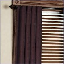 Purple Curtains Target Decor Purple Curtains Target With Glass Window And Brown Wall