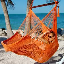 hammocks chair large orange by the caribbean hammocks store of usa