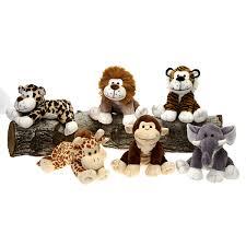wholesale 8 6 assorted whimsical jungle animals sku 681794