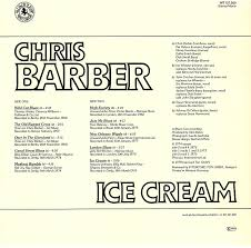 Old Rugged Cross Music Chris Barber Lps Ice Cream Black Lion Edition