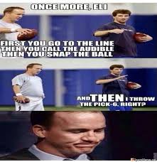 manning brothers meme