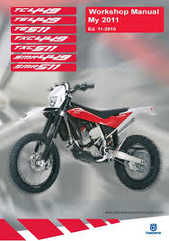 husqvarna workshop service manual 2011 smr 449 u0026 smr 511 u2022 25 00