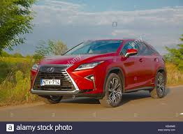 lexus rx red lexus rx stock photos u0026 lexus rx stock images alamy