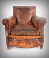 Leather Arm Chairs Leather Armchair Soft Worn Country House Look Antiques Atlas