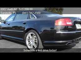 audi w12 engine for sale 2007 audi a8 l w12 quattro awd 4dr sedan for sale in sarasot
