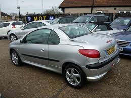 used 2003 peugeot 206 cc 1 6 s 2dr for sale in middlesex pistonheads