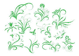 free vintage floral ornament vector free vector