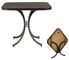 Wooden Folding Card Table Meco Folding Tables Foter