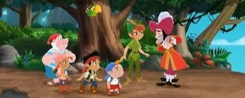 jake land pirates peter pan returns cast images