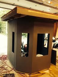 Deer Blind Elevators Box Blind Build Deer Hunter Forum