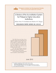 A Review Of The Accreditation System For Philippine Higher