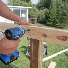 How To Build A Deck Handrail How To Build A Deck Wood Decking And Railings