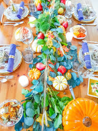 last minute thanksgiving table ideas revel and glitter