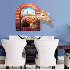 Giraffe Home Decor by Popular 3d Giraffe Buy Cheap 3d Giraffe Lots From China 3d Giraffe