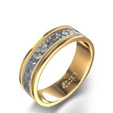 gold wedding band mens mens diamond wedding ring band in yellow gold jewelocean in
