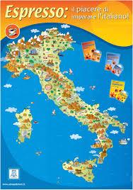 Italian Map Map Of Italy Italia Sempre Italia Pinterest Italy