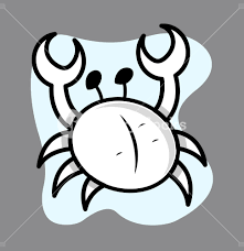 cartoon crab illustration royalty free stock image storyblocks