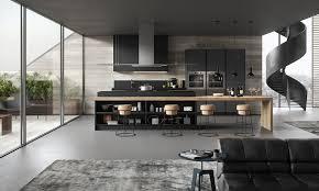 cuisine bois et gris cuisine grise et bois cuisine grise deco cuisine bois gris
