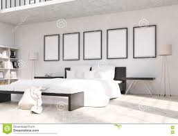 Bedroom Side View by Empty Frames Above Bed Best Frames 2017