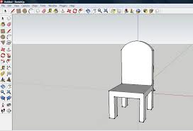 how to make a chair on sketchup 9 steps with pictures wikihow