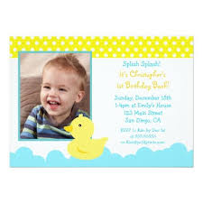 397 best duck birthday party invitations images on pinterest 2nd