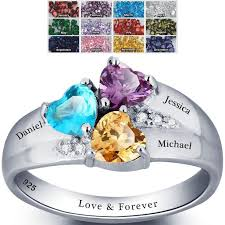 s day birthstone rings 17 best images about birthstone rings for on