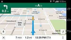 Google Maps San Diego by How To Toggle First Person View In Google Maps Navigation