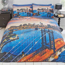 New York City Duvet Cover New York Bedding Ebay