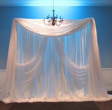 wedding backdrop fabric diy wedding backdrops ideas this backdrop is designed with