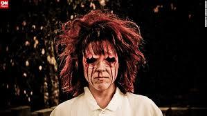 Realistic Scary Halloween Costumes Disfigured Freaks Hellish Hounds Bloody Babies Cnn
