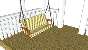 making porch swing cushion build plans myoutdoor frame 36745