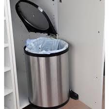 poubelle cuisine encastrable coulissante poubelle de cuisine automatique tri selectif à pedale sous