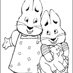 max and ruby coloring page businesswebsitestarter com