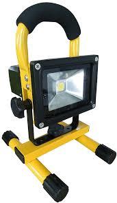 10w rechargeable flood light leuchte fl 10w rechargeable led floodlight â 10 w 700 lm at