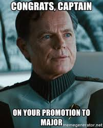 Pike Meme - congrats captain on your promotion to major admiral pike meme