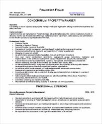 property manager sample resume apartment manager resume sample