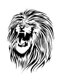 17 best 3d lion tattoo stencils printable images on pinterest