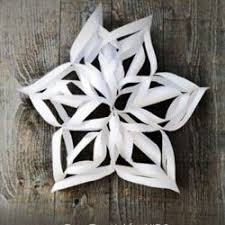 30 ideas ways to make a snowflake on as we grow