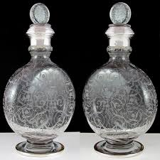 Baccarat Crystal Barware Stunning And Exceptionally Rare Is This Antique 19th Century