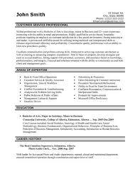 Customer Service Resume Template Word Customer Service Resume Templates Free Jospar