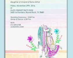 Wedding Card India Hindu Wedding Cards Etsy