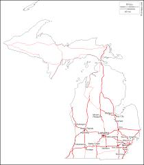 Kalamazoo Michigan Map by Michigan Free Map Free Blank Map Free Outline Map Free Base