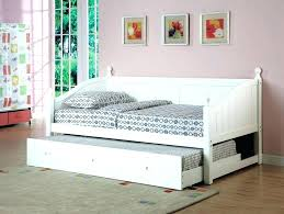 White Daybed With Pop Up Trundle Sophisticated White Wood Daybed With Pop Up Trundle Architecture