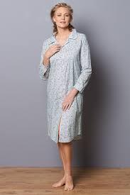 robe de chambre femme coton chemise de nuit forme liquette nuit robes de chambre chemises de