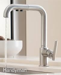sink faucet kitchen the best bathroom and kitchen sink faucets family handyman