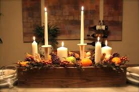 Dining Table Candles Candle Centerpieces For Dining Tables Gorgeous Wooden Candle